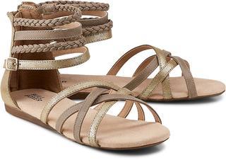 BULLBOXER - Riemchen-Sandale in gold, Sandalen für Mädchen