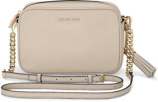 MICHAEL KORS - Tasche Md Camera Bag in helles taupe, Umhängetaschen für Damen