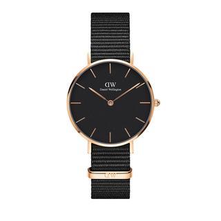 Daniel Wellington - Uhr - Classic Petite Cornwall 32 mm Black - in schwarz - für Damen
