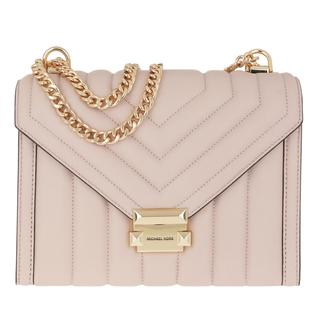 MICHAEL KORS - Umhängetasche - Whitney LG Shoulder Soft Pink - in rosa - für Damen