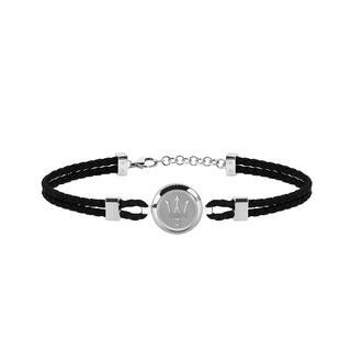 Maserati - Armband - Bracelet JM217AJF27 Steel/Black - in schwarz - für Damen