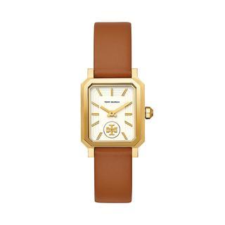 Tory Burch - Uhr - The Robinson Watch Stainless Steel Gold - in braun - für Damen