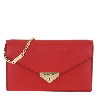 MICHAEL KORS - Umhängetasche - Grace MD Envelope Clutch Bright Red - in rot - für Damen