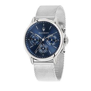 Maserati - Uhr - Watch Hau Epoca 42mm Silver - in blau - für Damen