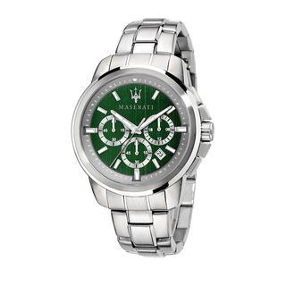 Maserati - Uhr - Watch Hau Successo 42mm Silver - in grün - für Damen