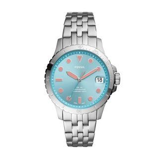 Fossil - Uhr - Sport Watch FB-01 Silver - in silber - für Damen