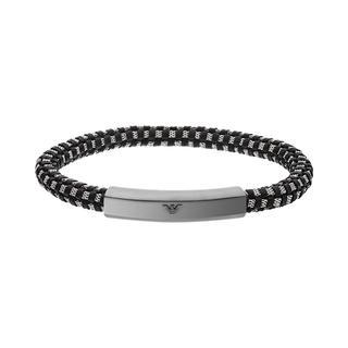Emporio Armani - Armband - EGS2665060 Men Bracelet Grey/Silver - in grau - für Damen
