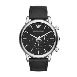 Emporio Armani - Uhr - Luigi Dress Watch Silver - in silber - für Damen