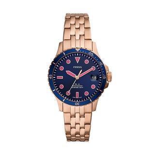 Fossil - Uhr - Sport Watch FB-01 Rose Gold - in roségold - für Damen