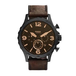 Fossil - Uhr - Watch Nate JR1487 Black - in schwarz - für Damen