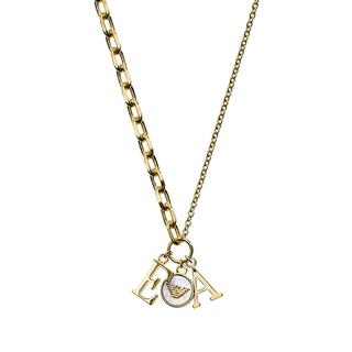 Emporio Armani - Halskette - Essential Necklace Gold - in gold - für Damen