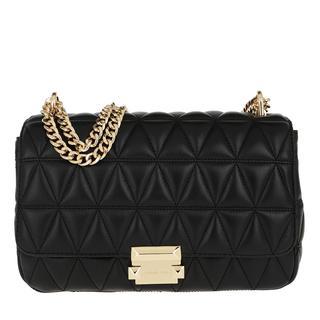 MICHAEL KORS - Umhängetasche - Sloan LG Chain Shoulder Bag Black - in schwarz - für Damen