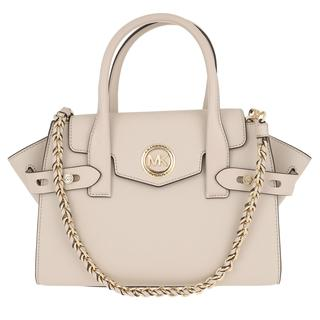 MICHAEL KORS - Tote - Carmen SM Flap Satchel Bag Light Sand - in grau - für Damen