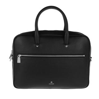 Aigner - Aktentasche - Handle Bag Black - in schwarz - für Damen