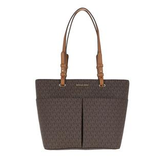 MICHAEL KORS - Tote - Bedford Medium Pocket Tote Bag Brown/Acorn - in braun - für Damen
