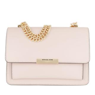 MICHAEL KORS - Umhängetasche - Jade Large Gusset Shoulder Bag Soft Pink - in rosa - für Damen