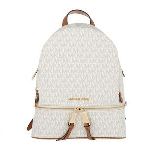 MICHAEL KORS - Rucksack - Rhea Zip MD Backpack Vanilla - in weiß - für Damen