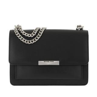 MICHAEL KORS - Umhängetasche - Jade LG Gusset Shoulder Black - in schwarz - für Damen