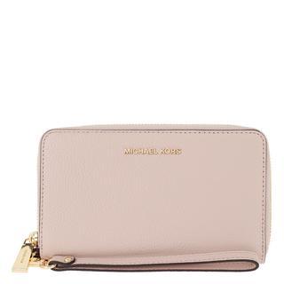 MICHAEL KORS - Portemonnaie - Jet Set LG Flat Multifunction Phone Case Soft Pink - in rosa - für Damen