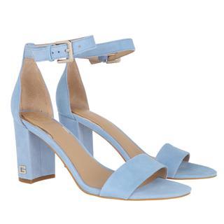 guess - Sandalen - Melisa Sandal Suede Blue - in blau - für Damen