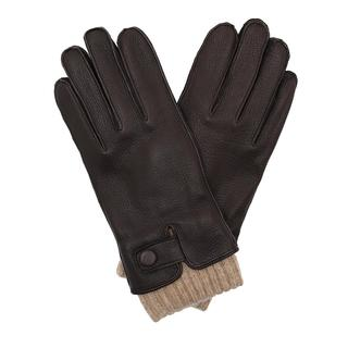 Roeckl - Handschuhe - Men Soft Button Gloves Coffee - in braun - für Damen
