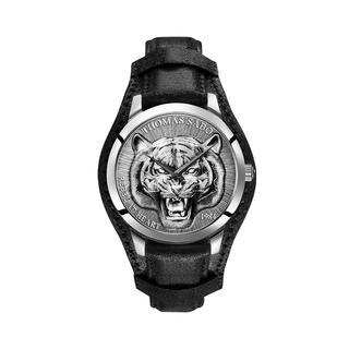 Thomas Sabo - Uhr - Men's Watch Rebel Tiger 3D Black/Silver - in schwarz - für Damen