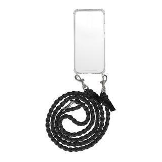 fashionette - Smartphone Case - Smartphone Mate 20 Lite Necklace Braided Black - in schwarz - für Damen