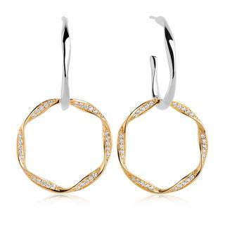 Sif Jakobs Jewellery - Ohrringe - Cetara Due Earrings Gold - in gold - für Damen