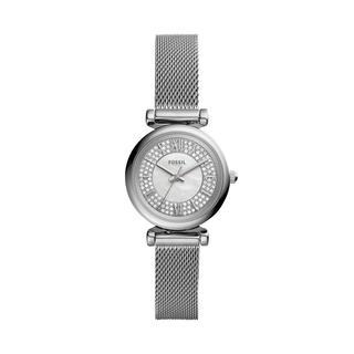 Fossil - Uhr - Carlie Mini Watch Silver - in silber - für Damen