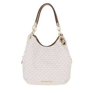 MICHAEL KORS - Tote - Lillie Large Chain Shoulder Tote Vanilla/Acorn - in beige - für Damen