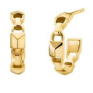 MICHAEL KORS - Ohrringe - MKC1013AA710 Huggie Mercer Link Gold - in gold - für Damen