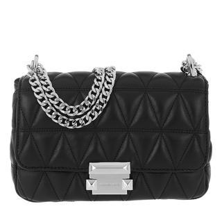 MICHAEL KORS - Umhängetasche - Sloan Chain Shoulder Bag Black - in schwarz - für Damen