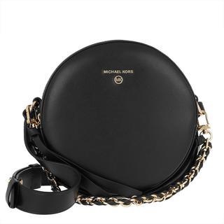 MICHAEL KORS - Umhängetasche - Delancey MD Circle Crossbody Bag Black - in schwarz - für Damen