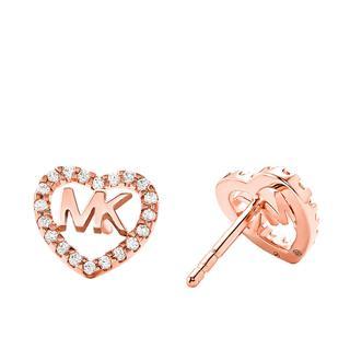 MICHAEL KORS - Ohrringe - MKC1243AN791 Hearts Earrings Roségold - in gold - für Damen
