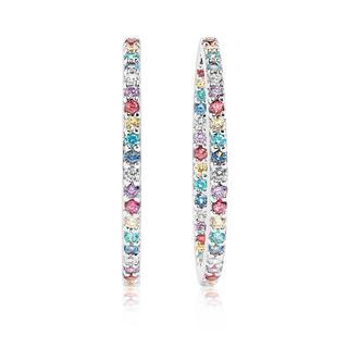 Sif Jakobs Jewellery - Ohrringe - Bovalino Earrings Multicoloured Zirconia 925 Sterling Silver - in silber - für Damen