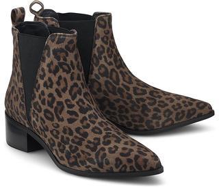 Another A - Chelsea-Boots in leo, Stiefeletten für Damen