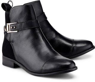 COX - Trend-Bootie in schwarz, Stiefeletten für Damen