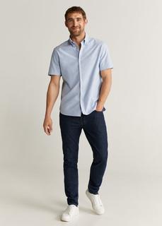 MANGO MAN - Regular fit-hemd aus baumwolle