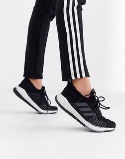 adidas Performance - adidas Running – Pulesboost HD – Schwarze Sneaker