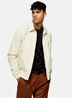 Topman - Mens Stone Paper Touch Jacket, Stone