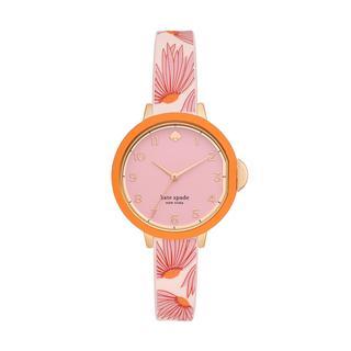 kate spade new york - Uhr - Parkrow Alloy Watch Rose Gold - in rosa - für Damen