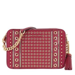 MICHAEL KORS - Umhängetasche - Jet Set MD Camera Bag Berry - in rot - für Damen