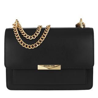 MICHAEL KORS - Umhängetasche - Jade Large Gusset Shoulder Bag Black - in schwarz - für Damen