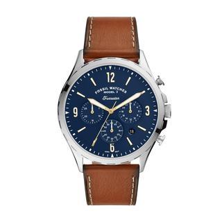 Fossil - Uhr - Men Forrester Chrono Watch Silver - in braun - für Damen