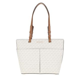 MICHAEL KORS - Tote - Bedford Medium Pocket Tote Bag Vanilla/Acorn - in beige - für Damen