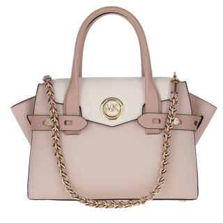 MICHAEL KORS - Tote - Carmen SM Flap Satchel Bag Softpink Light Cream Fawn - in rosa - für Damen