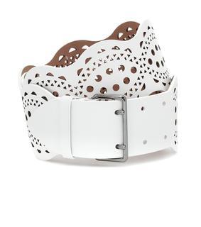 Alaïa - Gürtel aus Leder