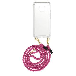 fashionette - Smartphone Case - Smartphone Mate 20 Pro Necklace Braided Berry - in pink - für Damen