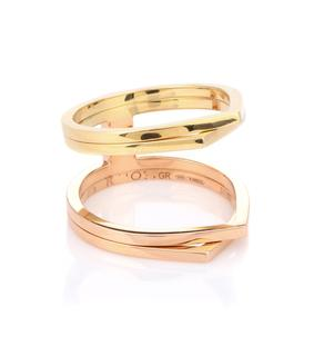 Repossi - Exklusiv bei Mytheresa – Ring Antifer aus 18kt Rosé- und Gelbgold