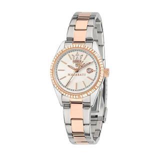 Maserati - Uhr - Competizione Watch Stainless Steel Silver - in silber - für Damen